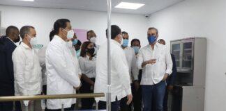 Presidente Abinader anuncia obras en SFM